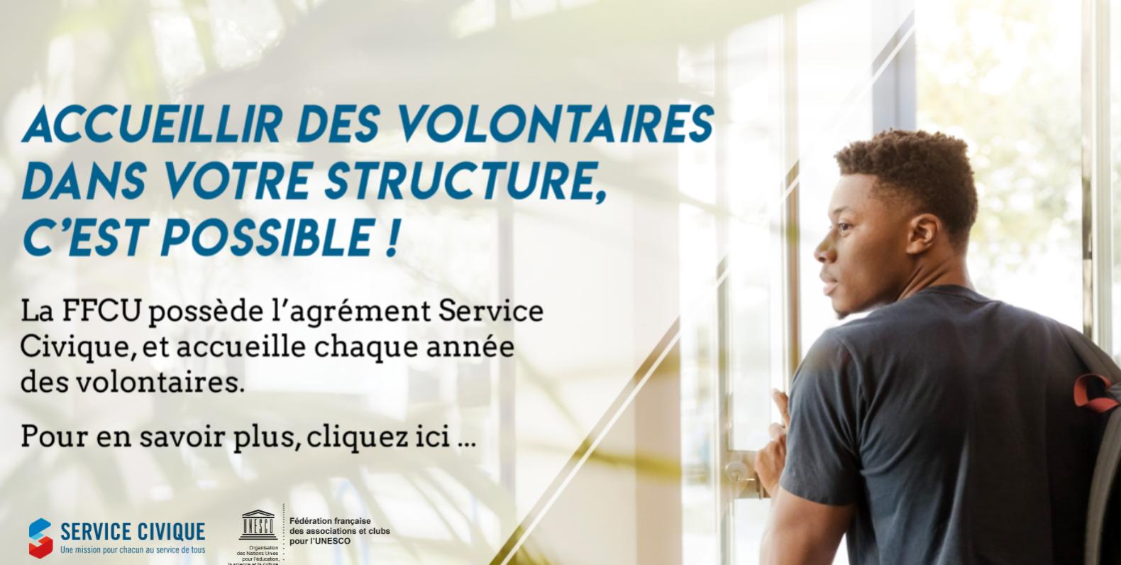 Trouvez un volontaire Service Civique avec la FFCU